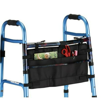 Nova medical products 4001bk folding walker bag, black by NOVA Medical Products