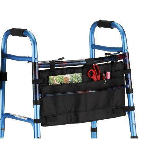 Nova medical products 4001bk folding walker bag, black by NOVA Medical Products