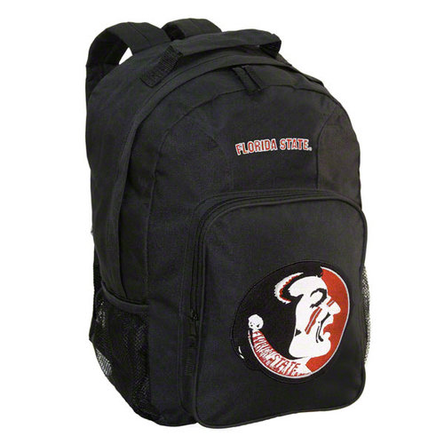 NCAA - Florida State Seminoles Black Youth Southpaw Backpack