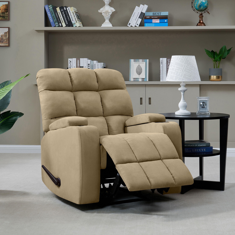 Mainstays Tyler Wall Hugger Storage Arm Recliner Chair