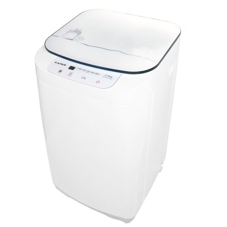 Compact Washing Machine, KAPAS Fully Automatic 2-in-1 Washer & Spin Dry Machine with 8 lbs Capacity Top Load Tub (Top Load Washing Machine And Dryer Set)