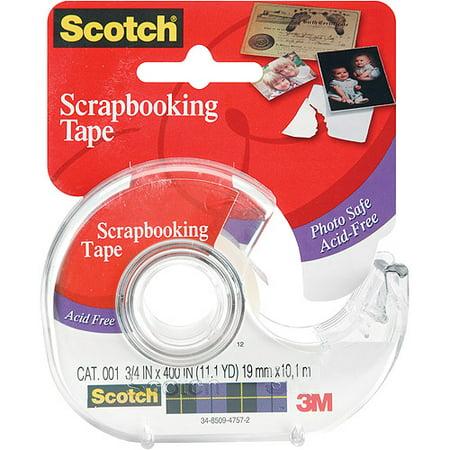 Scotch Single Sided Mending Tape Dispenser, 1