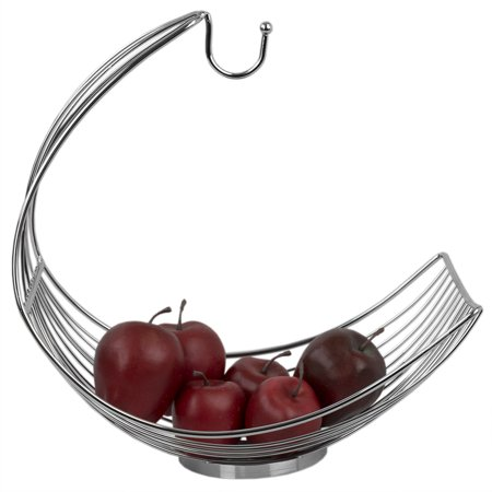 Home Basics Chrome Plated Steel Fruit Hammock with Banana Tree](Mens Banana Hammock)