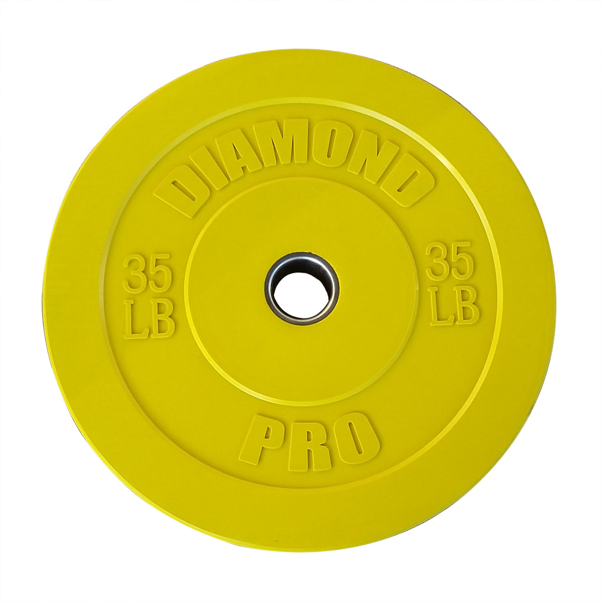 Diamond Pro 35 lb Color Bumper Plate Single