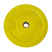Diamond Pro Color Bumper Plate, 35 lb Single