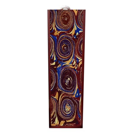 Abstract Print Wine Stopper Rustic Wine Box Rosewood With Slide Top Wine Box Holder Wine Case Decoration Wine Case Wood Wine Box Carrier