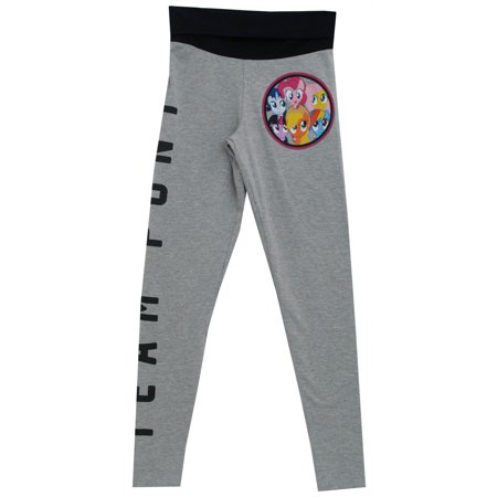 My Little Pony MLP Team Pony Cartoon Womens Juniors Leggings Yoga Pants