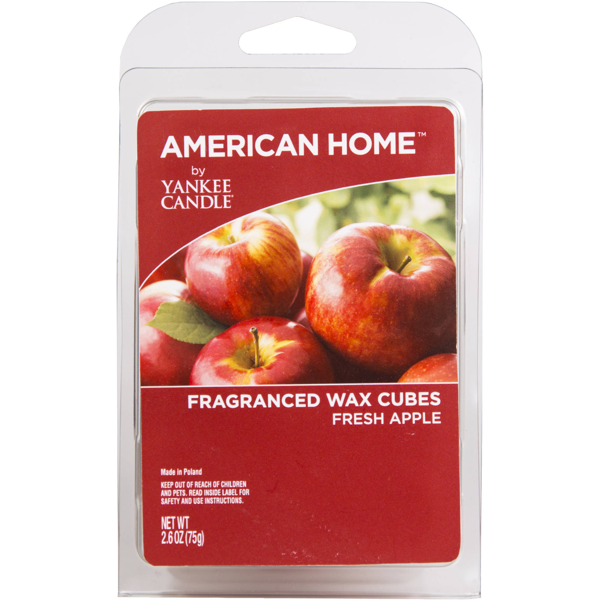 American Home by Yankee Candle Fresh Apple, 2.6 oz Fragranced Wax Cubes