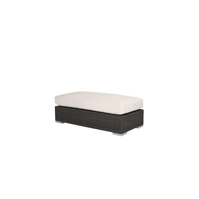 Source Outdoor SO-2001-143-ESP King Rectangular Shaped Large Ottoman in Espresso by Source Outdoor