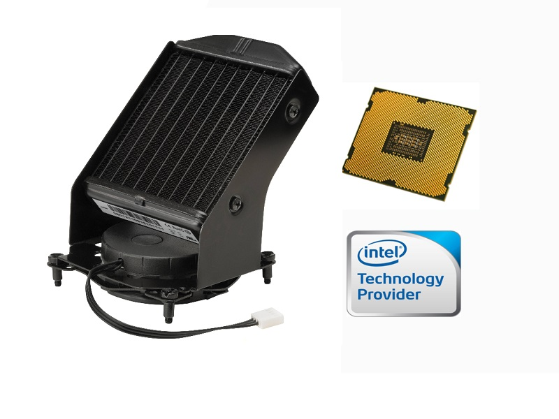 Intel Xeon E5-2687W SR0KG SR0GX  Eight Core 3.1GHz Liquid Cooling CPU Kit for HP Z820 by intel