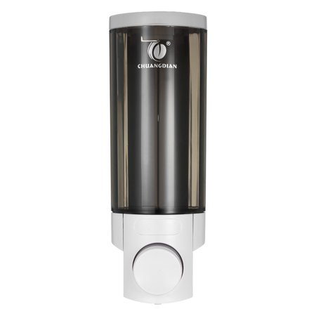 CHUANGDIAN 300ml Wall-mounted Single Bottle Manual Soap Dispenser Shampoo Box Soap Dispenser & Holder Toilet Hand Washing Liquid Shampoo Shower Gel Dispenser - image 7 of 7