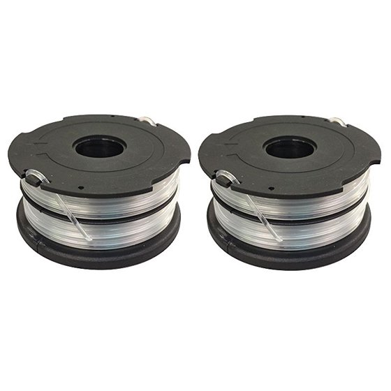 2 Spools for Black and Decker GH700, GH710, GH750 GrassHog Trimmer