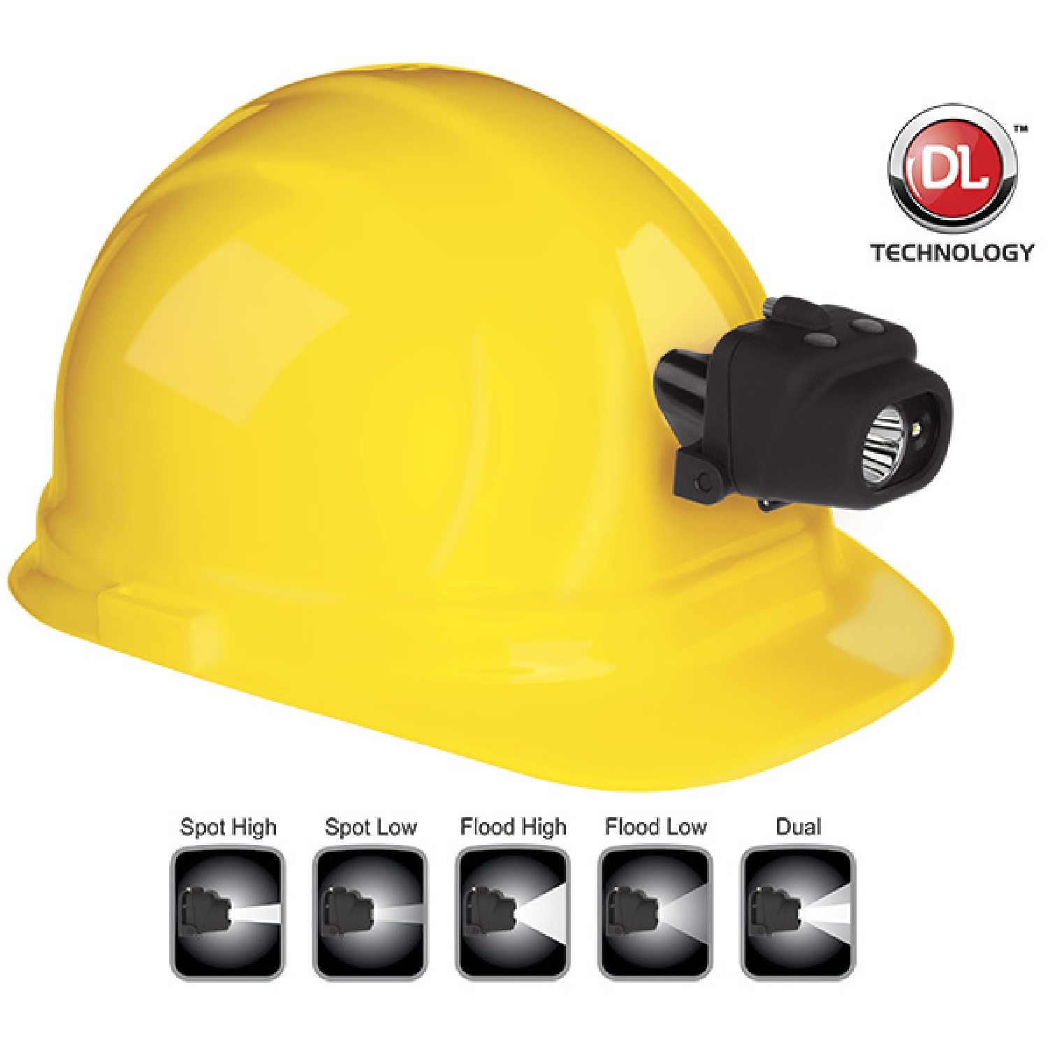 Nightstick NSP-4608BC Headlamp w-Hard Hat Clip & Mount