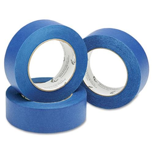 "Skilcraft Painters Tape Roll, Crepe Backing, 1""x60 Yds, 5.7mil., Blue 4567877"