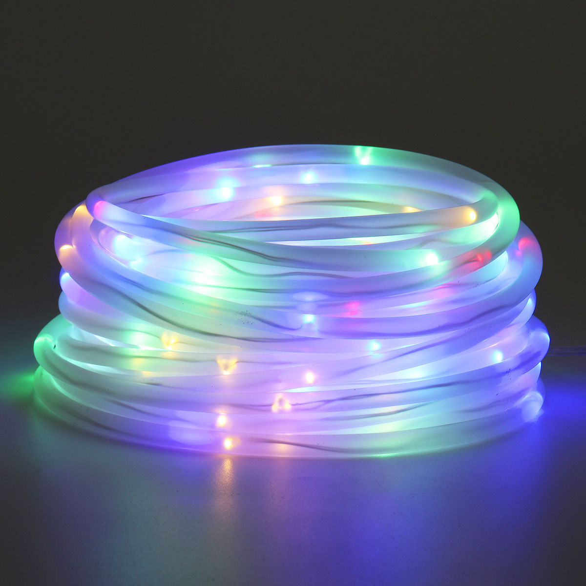 32 8ft Outdoor Led Rope Lights String Lights Christmas Fairy Lights Plug In 100 Leds Color Changing String Lights With Remote Waterproof For Outdoor Wedding Party Garden Home Walmart Com Walmart Com