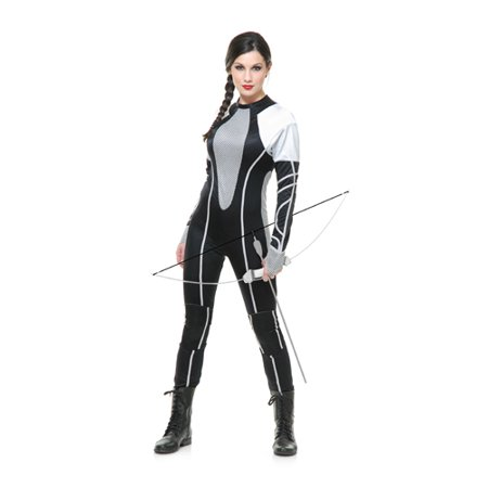 Womens Sexy Hunter Jumpsuit Halloween Costume for $<!---->