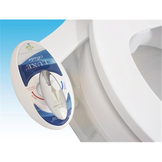 Luxe Bidet Neo 250 Hot And Cold Water Non-Electric Mechanical Bidet Attachment With Self-Cleaning