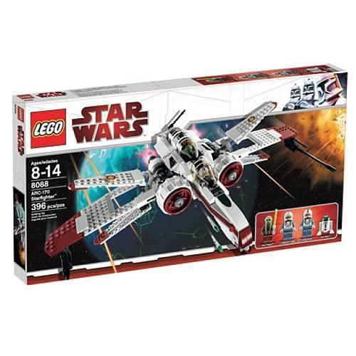 Star Wars The Clone Wars ARC-170 Starfighter Set LEGO 8088