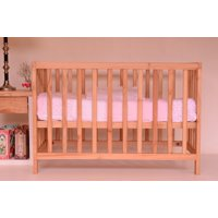Canvas Print Baby Bed Infant Cot Crib Cot Baby Cot Bed Stretched Canvas 10 x 14