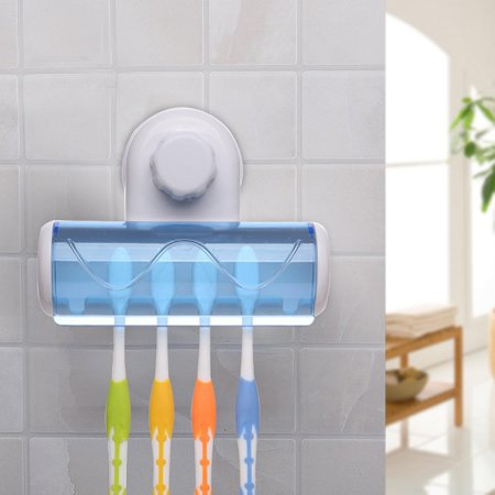 Wall Mounted Six Grid Toothbrush Holder