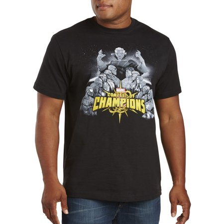 b1569ed4a True Nation - Men's Big & Tall Marvel Comics Contest of Champions Graphic  Tee - Walmart.com