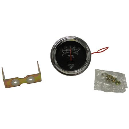 - A0NN10670A New Tractor Ammeter Gauge for Ford New Holland 60 Amp w/ Chrome Bevel