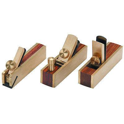 3 Piece Small Mini Wood Planers (Hand Planter)