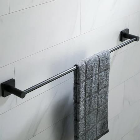 KRAUS Ventus™ 24-inch Bathroom Towel Bar, Matte Black ...