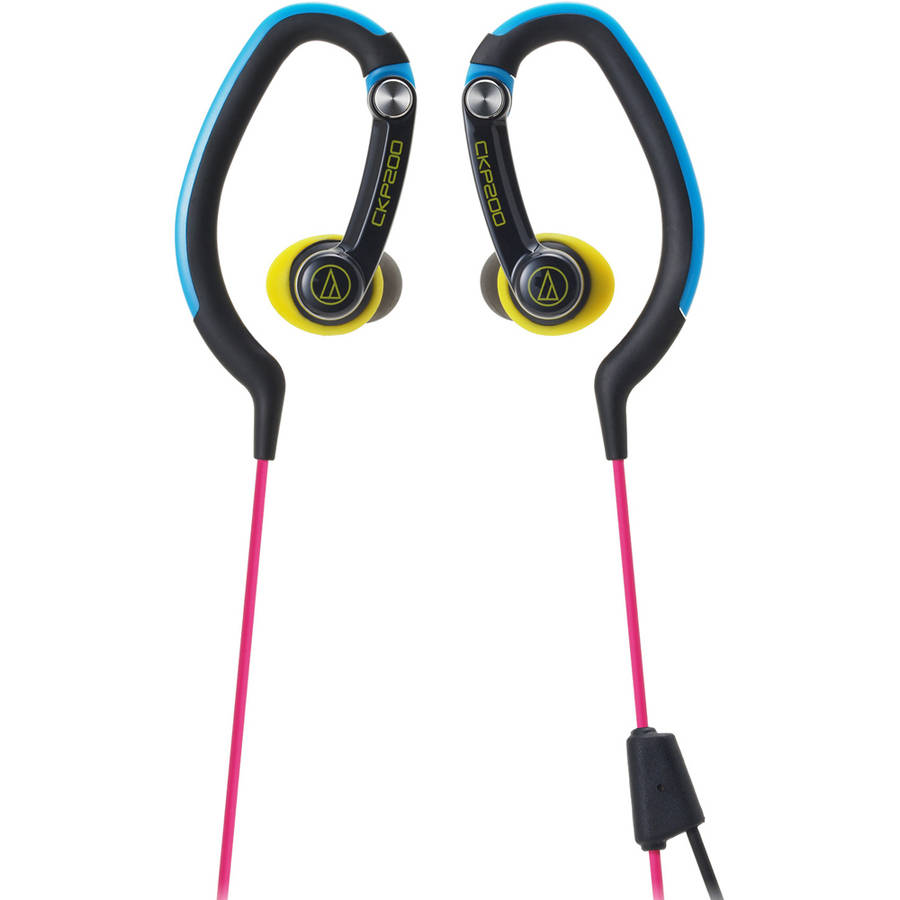 Audio Technica Sonicsport In-Ear Hook Style Waterproof Headphones