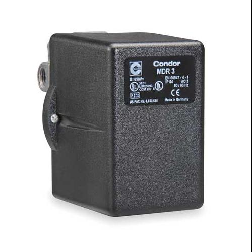 CONDOR USA, INC 31KGXXXX Pressure Switch, 3PST, 140/175 psi