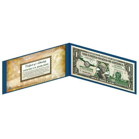 FLORIDA State $1 Bill *Genuine Legal Tender* U.S. One-Dollar Currency -