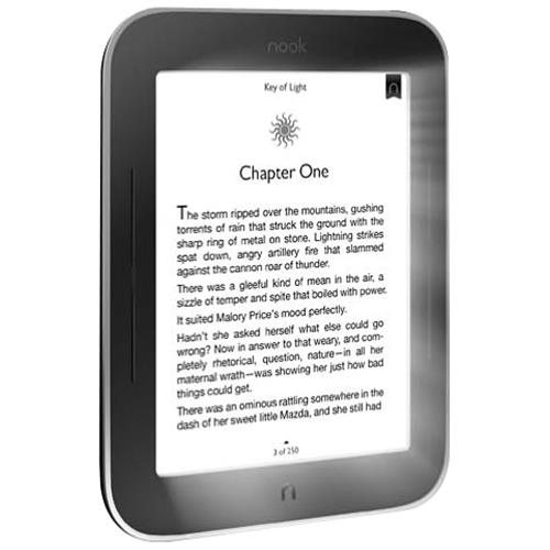 """Refurbished Barnes & Noble BNRV350 (6"""" NOOK Simple Touch with GlowLight  Wifi  2 GB)"""