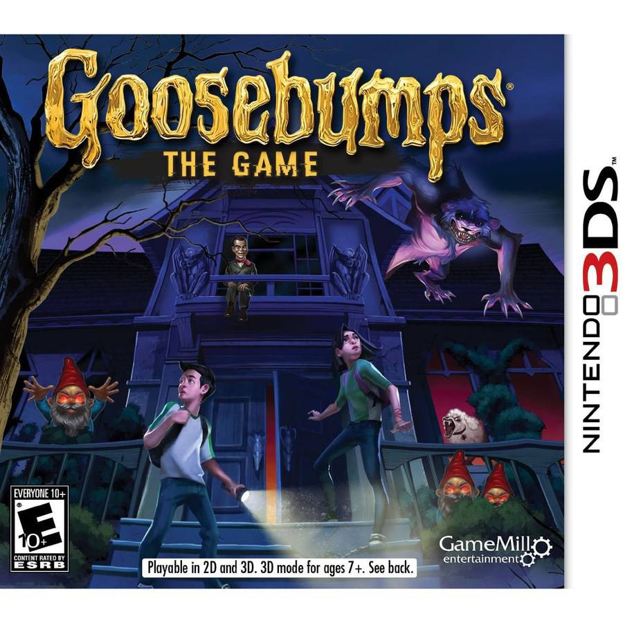 GAMEMILL ENTERTAINMENT Goosebumps The Game (Nintendo 3DS)