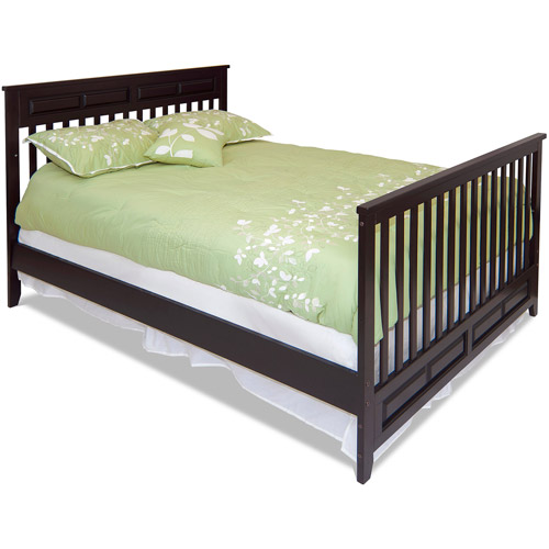 Child Craft Logan Full-Size Bed Rails, Jamocha