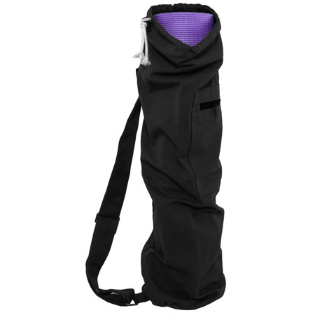 The Prosourcefit Yoga Mat Bag With Side Pocket And Cinch