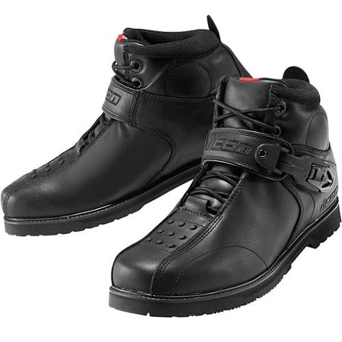 Icon SuperDuty 4 Motorcycle Boots Black