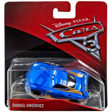 Disney Cars Cars 3 Daniel Swervez Diecast Car [Checkout