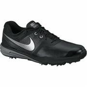 Nike Lunar Command Golf Shoes (Black/Silver, 8)