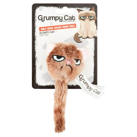 Grumpy Cat Fluffy Cat Cat Toy