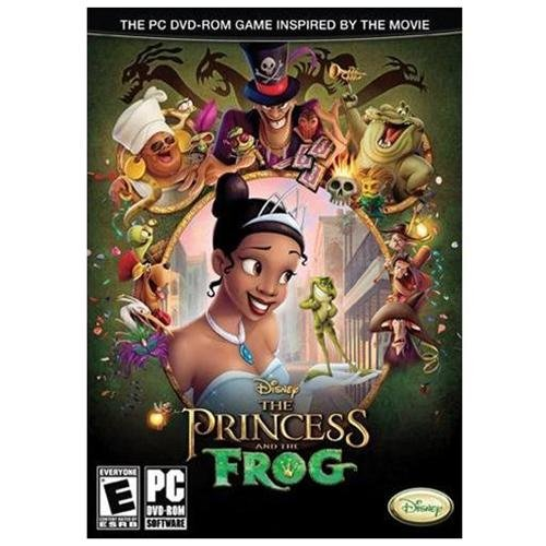Princess & The Frog, Disney Interactive Studios, PC Software, 044702010301