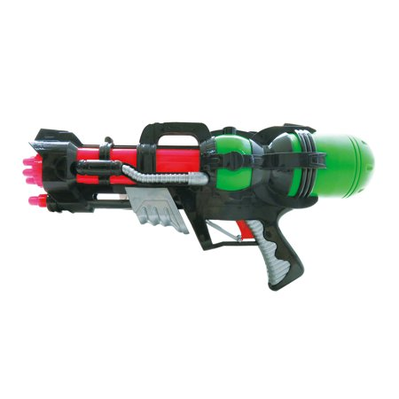 Mozlly Mozlly Rotary Water Fight Blaster Guns Super Shooter Squirter Swimming Pool Beach Summer Pistol Soaker Toy Play Squirt Minigun Ideal Gift Toys Games Party Favors 17 Inch Colors May Vary Water T](Pirate Water Pistol)