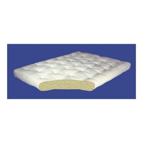 4 inch All Cotton Futon Mattress (4 in. Twin: 39 W x 75 D (40 lbs.)) by Gold Bond