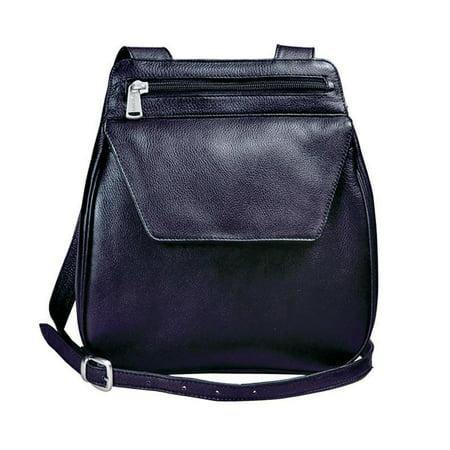 Winn International Cowhide Napa Leather Tag-Along Shoulder Bag