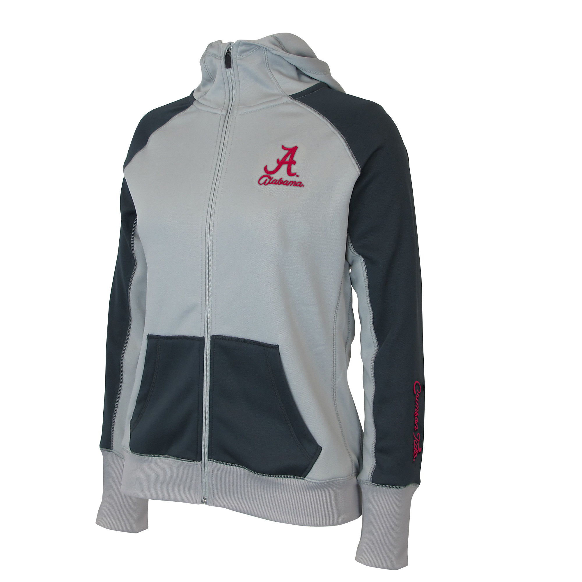 "Alabama Crimson Tide Women's NCAA ""Nordic"" Full Zip Hooded Jacket by Colosseum"