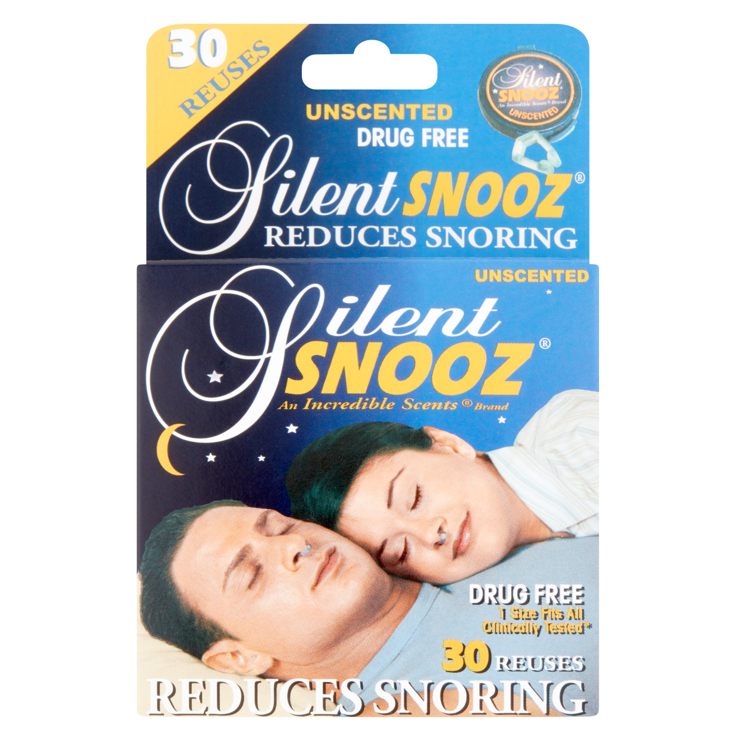 Silent Snooz Unscented Snoring Aid