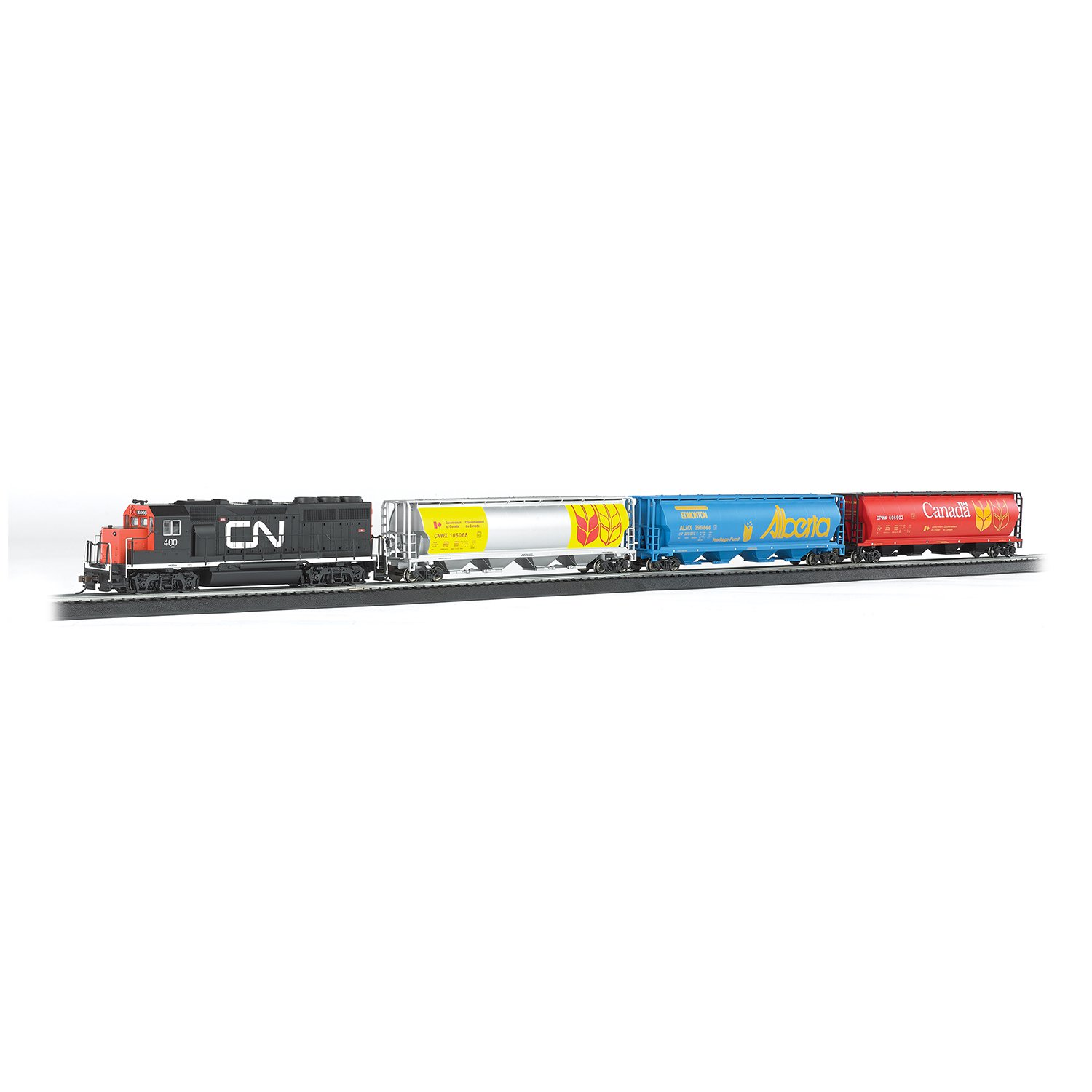 Bachmann Trains Canadian Harvest Express Electric Train Set, HO Scale | 735-BT by Bachmann Trains