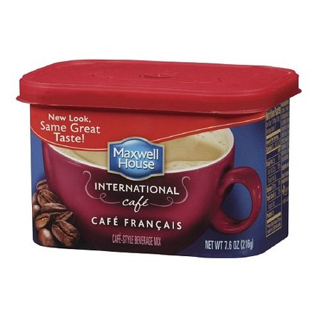 Maxwell House International Cafe Francais Coffee Beverage Mix  7 6 Oz