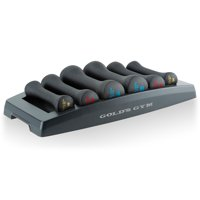 Gold's Gym Dumbbell Power Set, 3-8 lb. Pairs with Storage Tray