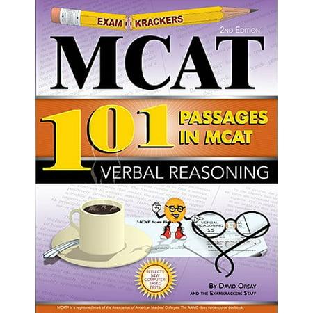 Examkrackers 101 Passages in MCAT Verbal