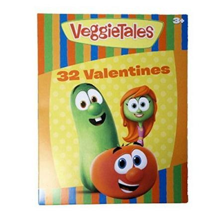 VeggieTales 32 Classroom Valentines Cards by VeggieTales